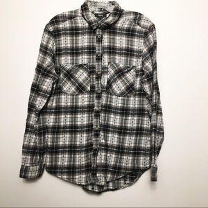 BDG Plaid Flannel Shirt S/P